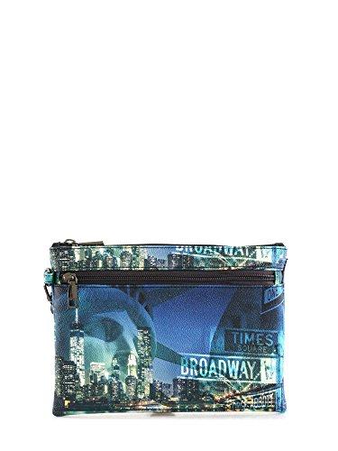 Y NOT? donna pochette con polsino I-343 ROC Blu