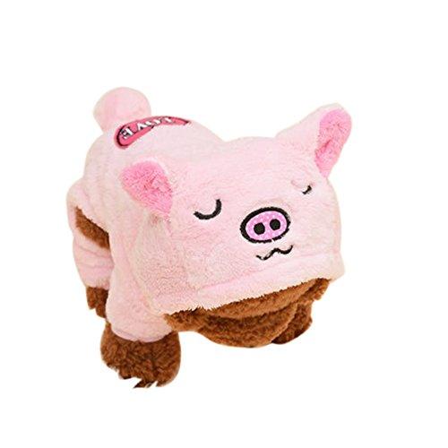 idung Schwein Elefanten Löwe Kaninchen Form Kostüm Hund Katze Kleidung Lustig Pullover Mantel Hoodie Sommer (Elefanten Hund Kostüme)