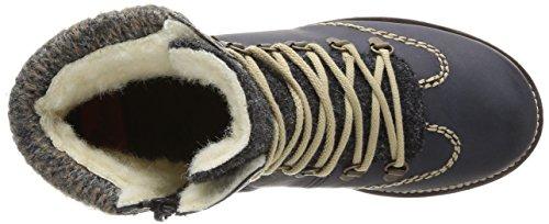 Rieker - Stivali,Donna Blu (Blau (uniform/anthrazit/kastanie/graphit / 15))