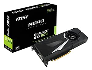 Carte Graphique MSI GeForce GTX 1070 Aero OC