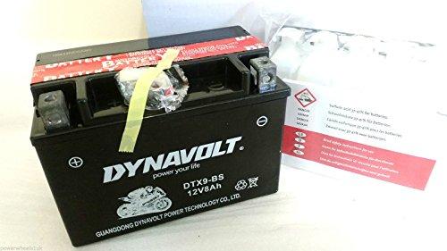 Dynavolt Batteria DTX9/Varta YTX9-BS-BS-BS GTX9/12 VOLT/moto 8AH per Quad