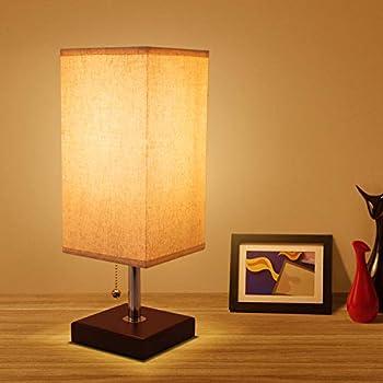 Usb Bedside Table Lamp Seealle Grey Modern Table Amp Desk