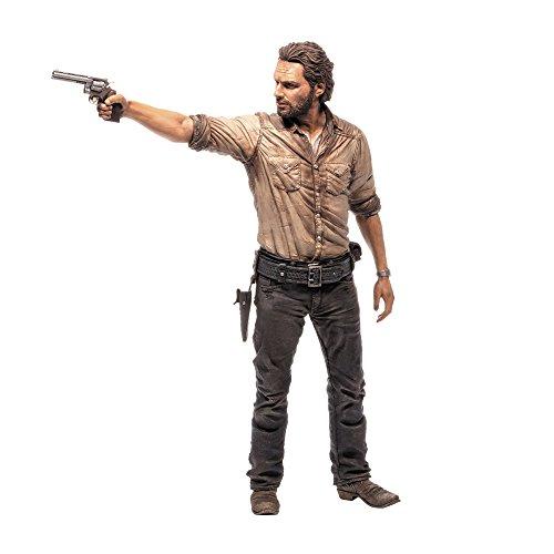 McFarlane Toys 14478 - The Walking Dead TV Rick Grimes Deluxe Figur 25 cm (Dead Walking Deluxe)