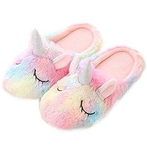 JPYH Zapatillas de unicornio,Zapatillas de