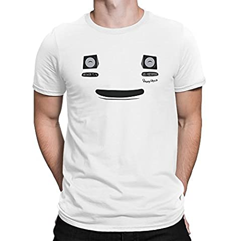 Mazda MX5 Miata Smile Face Funny Homme T-shirt XL