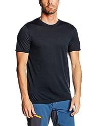 Ortovox–Camiseta para hombre (lana merino Clean, primavera/verano, hombre, color Gris - negro/gris acero, tamaño XL