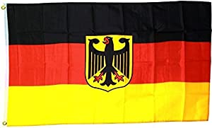 Gifts 4 All Occasions Limited SHATCHI-900 - Bandera de Deutschland (poliéster, 1,5 x 0,9 m), diseño de Deutschland