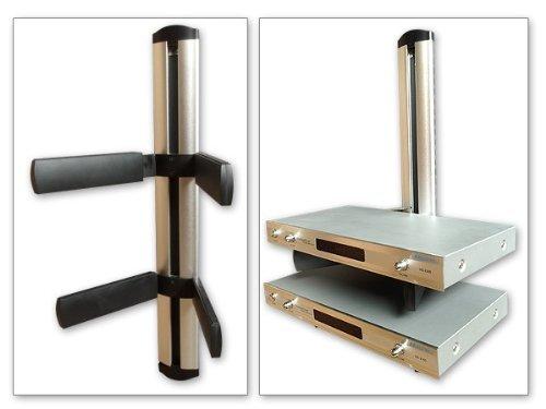 Universal media parete monte v doppia gestione stack modello ricevitore amplificatore lettore cd dvd bluray: l95