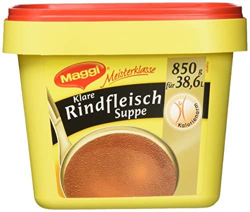 Maggi Klare Rindfleischsuppe (sofort löslich) 3er Pack (3 x 850g Profi Box)