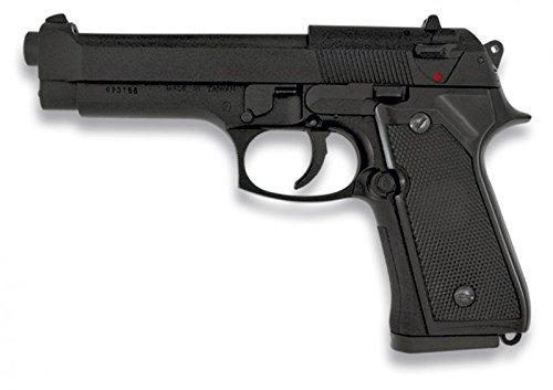 Martinez 35142. Pistola airsoft MF 9s negra metálica. Calibre 6mm. Po