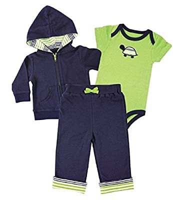 YOGA-SROUT, 3tlg. SET, Jacke-Hose-Body, Boy-turtle