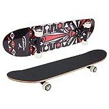 HUDORA Hornet Skateboard ABEC 1, Design 1 | 12057