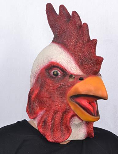 Generique - Latex Hahnenmaske für Erwachsene
