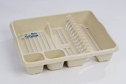 High Grade Extra Large Plastic Dish Drainer Plate and Cutlery