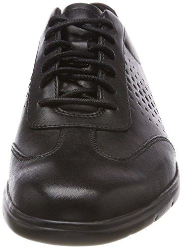 Clarks Herren Vennor Vibe Derbys Schwarz (Black Leather)