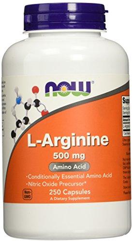 L-arginine 500 mg - 250 gelules - Now foods