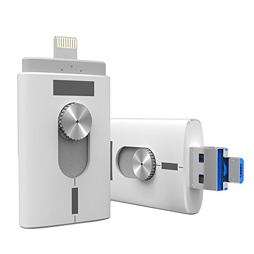 JOYGO DE 32GB  2 0UNIDAD FLASH USB CON CONECTOR LIGHTNING MEMORY STICK  OFERTA DOBLE ALMACENAMIENTO PARA ANDROID Y APPLE PRODUCTOS (32 0 GB)