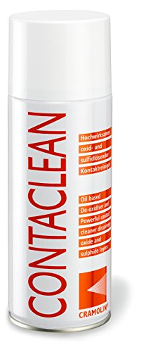 CONTACLEAN 400ml Spraydose - Kontaktreiniger - ITW Cramolin - 1011611 inkl. 1 St. DEWEPRO® SingleScrubs