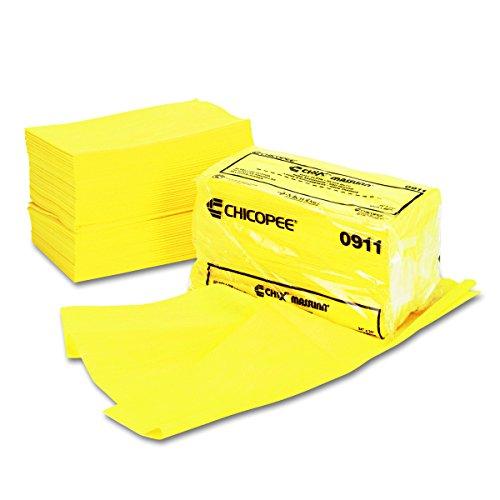 Chix 0911-24 Chiffons de poussi-re Masslinn x 24 - Jaune-50/Bag- 2/Carton