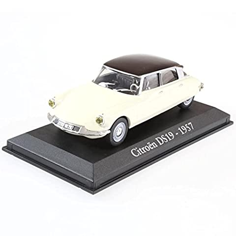 Voiture miniature Citroen DS19 1957 1/43 RBA DS ID coches