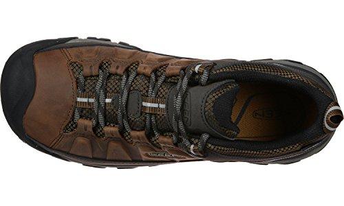 Keen Herren Targhee III WP Trekking-& Wanderhalbschuhe Mehrfarbig  (Big Ben/Golden Brown)