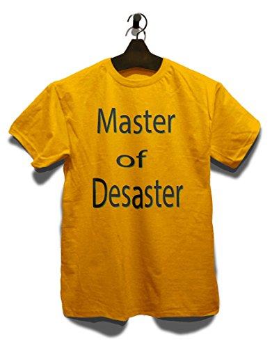 Master Of Desaster T-Shirt Gelb