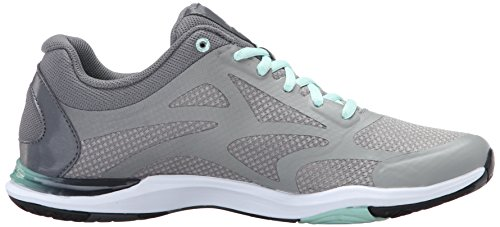 Ryka Womens Grafik 2 Cross-Trainer Shoe Grey-Mint