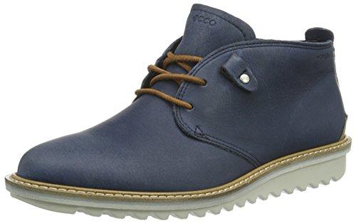 Ecco Damen Elaine Flatform Chukka Boots, Blau (Denimblue/Whisky 59969), 39 EU