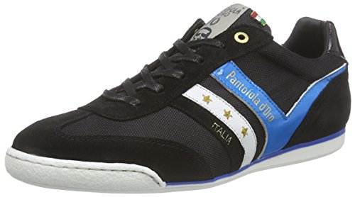 Pantofola d'Oro Loreto Nylon Herren Low-Top Schwarz (Black)