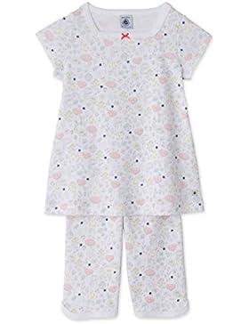 Petit Bateau Mädchen Zweiteiliger Schlafanzug Pyjacourt_22565