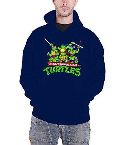 Teenage Mutant Ninja Turtles Kapuzenpullover Distressed Group offiziell ()