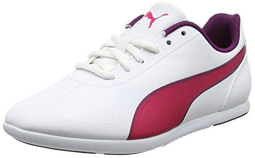 Puma Unisex-Kinder Modern Soleil SL Jr Sneaker, Weiß (White-Love Potion), 36 EU