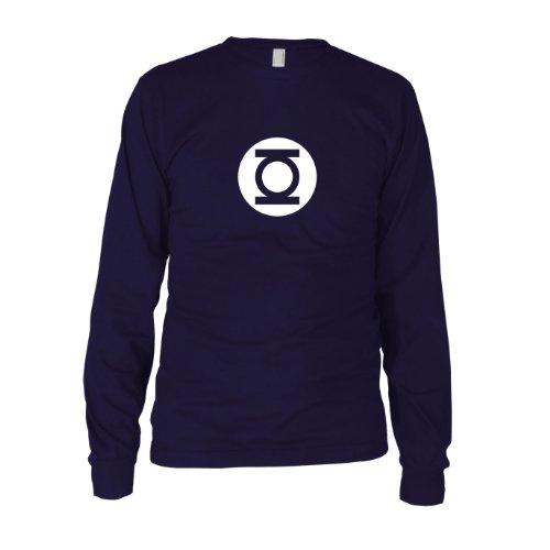 Planet Nerd - TBBT - GL Logo - Langarm T-Shirt Dunkelblau