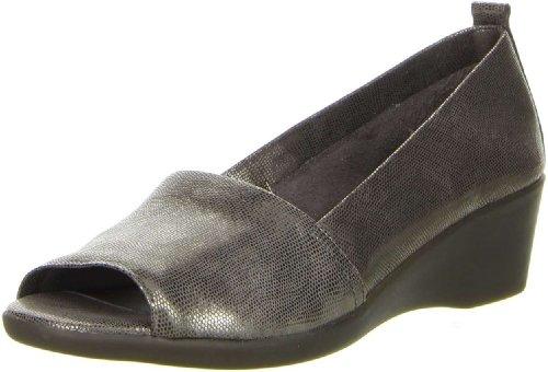 The Flexx Damen Halbschuhe Slipper anthrazit, Größe:40, Farbe:Anthrazit (Die Flexx-frauen-schuhe)