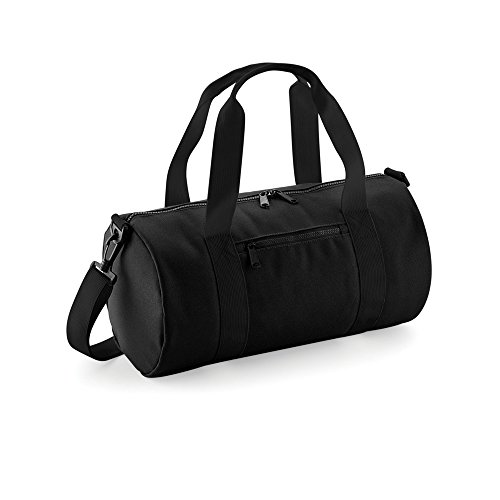 Bagbase Mini Barrel Sporttasche Marineblau/Off Weiß