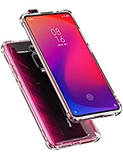 Tarkan Shock Proof Protective Soft Back Case Cover for Redmi K20/ K20 Pro (Transparent) [Bumper Corners with Air Cushion Technology]