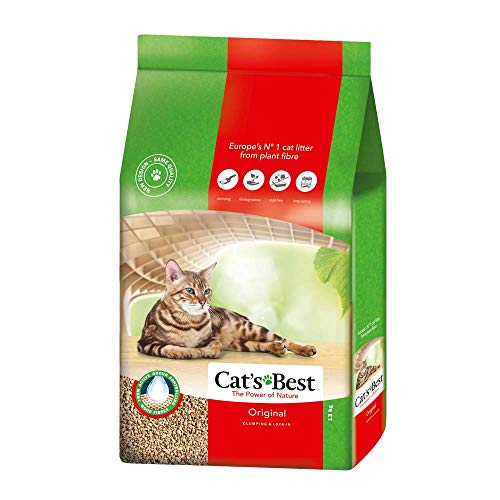 Cat\'s Best Original Katzenstreu, 40 Liter