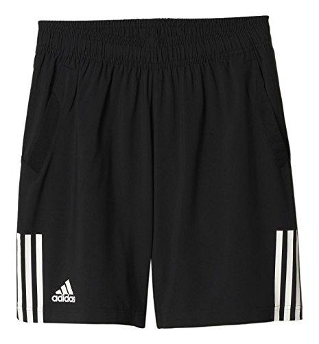 Adidas Club Short da Uomo, Nero/Bianco (Nero/Bianco), L