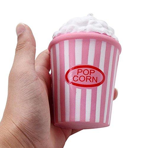 zeug, Holeider Popcorn Cup Squeeze Rising Toys Halloween Christmas Geschenk Für Kinder (Rosa) (Halloween-popcorn-geschenke)