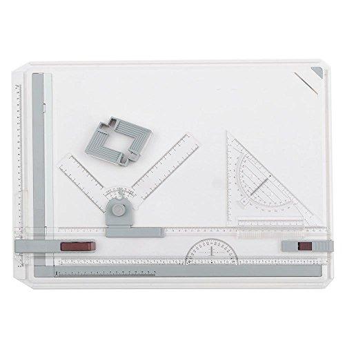 Multifunktions-Zeichenbrett, A3Kunststoff Ausarbeitung Tisch Tools mit verstellbare Winkel und...