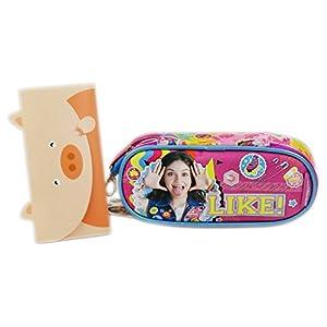 Disney Soy Luna Smile Bolsos Escolar Estuche para Lapices Plumas