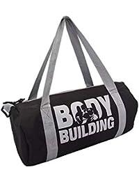 Udak Amazing Shoulder Strip Zipper 20L Capacity Grey Body Building Gym Bag   c691369005a74