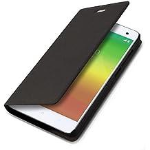 kwmobile Funda para Xiaomi MI4 - Flip cover para móvil - Cover plegable en negro