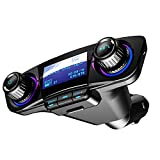 ETbotu FM-Transmitter AUX Modulator Bluetooth Freisprechanlage Auto Kit Audio MP3 Player