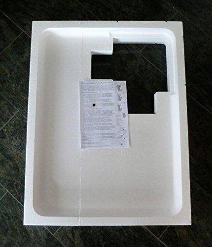 Preisvergleich Produktbild Universal Duschwannenträger Wannenträger Styroporträger für Duschwanne 90 x 70 cm superflach / Höhe Träger 14 cm