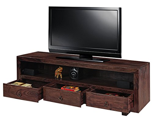 Natural Living Bluebell TV Unit (Mahogany Finish)