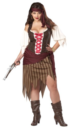 Buccaneer Beauty Costume (Plus Size) - Dress 18 to 20 (Buccaneer Beauty Kostüm)