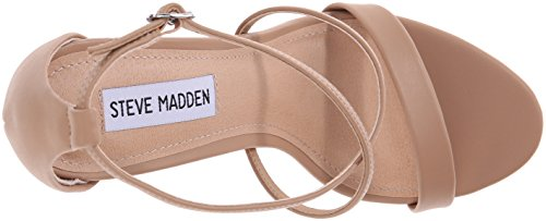 Steve Madden Feliz Synthetik Sandale Natural