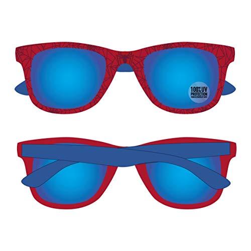 Artesania Cerda Jungen Gafas De Sol Spiderman Sonnenbrille, Blau (Azul), 52