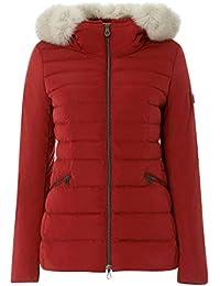 Amazon.it  Piumini Peuterey - Rosso   Giacche e cappotti   Donna ... 972351f71c8